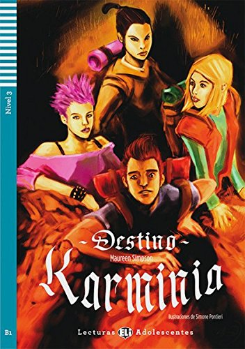 Destino Karminia. Buch mit Audio-CD: Nivel 3: B1 (9783125148598) by Maureen Simpson