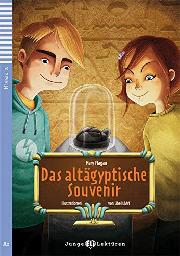9783125148789: Das altägyptische Souvenir : Buch mit Audio-CD. Niveau 2: A2