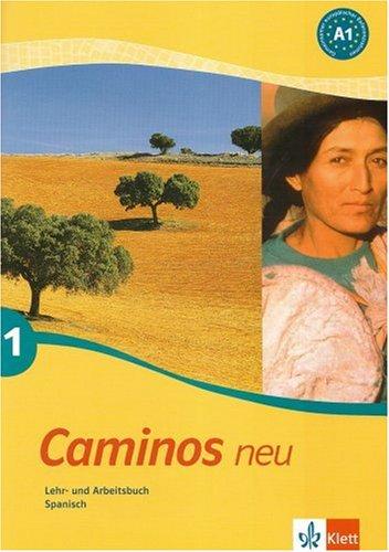 9783125149069: Caminos 1. Neu. Lehr- und Arbeitsbuch Spanisch.Mit CD