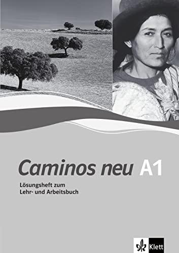 9783125149076: Caminos neu 1. Lösungsheft zum Lehr- und Arbeitsbuch