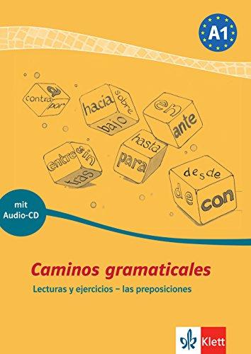 9783125149304: Caminos gramaticales A1. Heft und Audio-CD mit Lösungen: Lecturas y ejercicios - las preposiciones