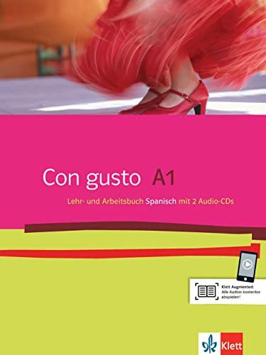 9783125149809: Con gusto 1. Lehr- und Arbeitsbuch. Mit 2 Audio-CDs