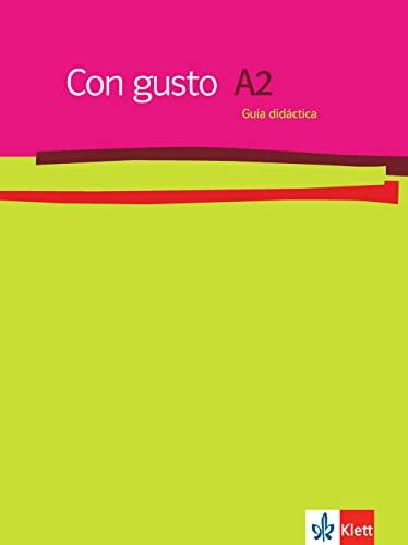 9783125149939: Con gusto. Lehrerhandbuch - A2
