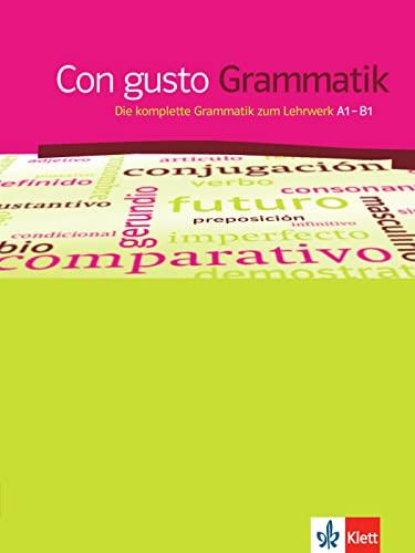 9783125149977: Con gusto. Grammatik - A1-B1