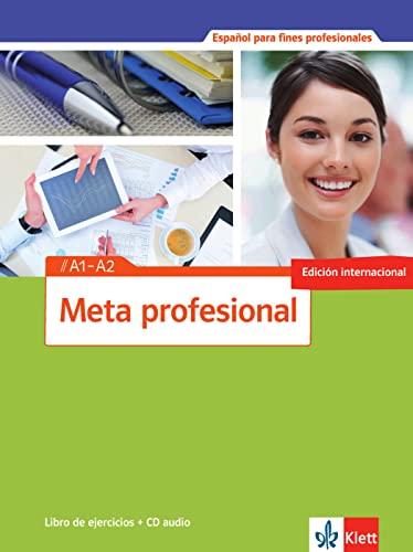 9783125154810: Meta profesional. Libro de ejercicios mit Audio-CD A1-A2: Spanisch für den Beruf