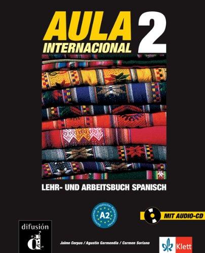 9783125155657: Aula 2. Lehr- und Arbeitsbuch: Kompaktkurs Spanisch