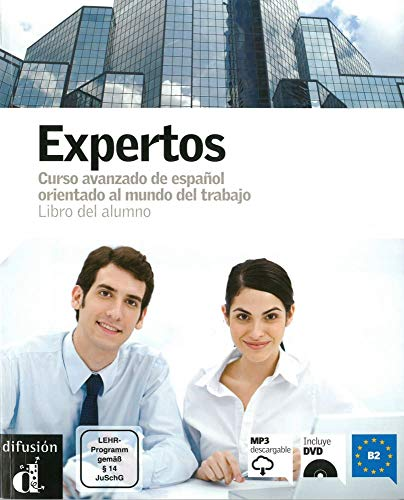 9783125155954: Expertos. Libro del alumno + Audio-CD + DVD
