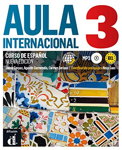 9783125157408: Aula internacional 03 Libro del alumno + Audio-CD (mp3): Nueva edición