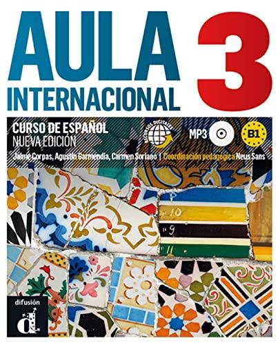 9783125157408: Aula internacional 03 Libro del alumno + Audio-CD (mp3).: Nueva edición