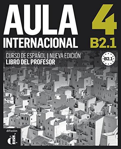 9783125157491: Aula internacional 4. Libro del profesor. Nueva edición