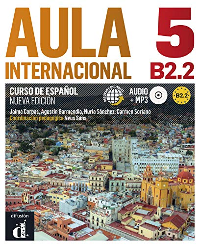 9783125157545: Aula internacional 5. Libro del alumno + Audio-CD (mp3). Nueva edición