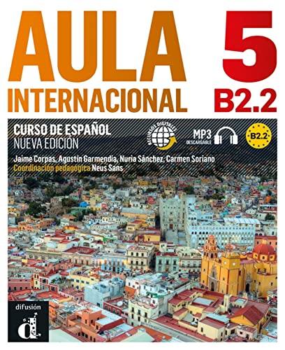 9783125157545: Aula internacional 5. Libro del alumno + Audio-CD (mp3). Nueva edición