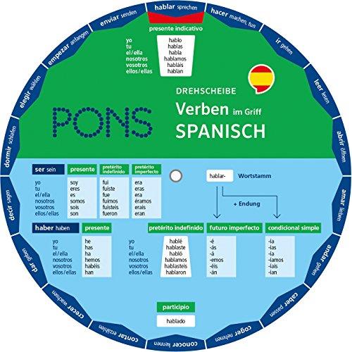 9783125160217: PONS Drehscheibe Verben im Griff Spanisch