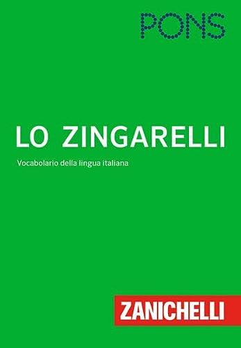 9783125160637: PONS Lo Zingarelli: Vocabolario della lingua Italiana