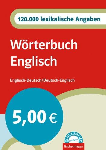 9783125168060: Wörterbuch Englisch
