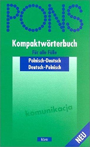 9783125170162: PONS Kompaktwörterbuch, Polnisch