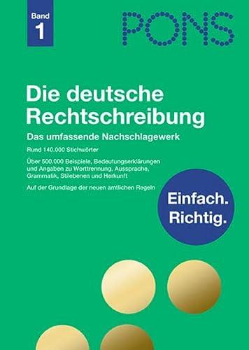 9783125170841: Pons Reference: Die Deutsche Rechtschreibung (Band 1) (German Edition)