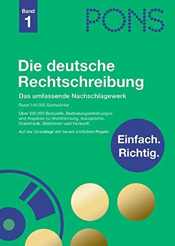 9783125170858: Pons Reference: Pons Die Deutsche Rechtschrebung - Buch & CD-Rom