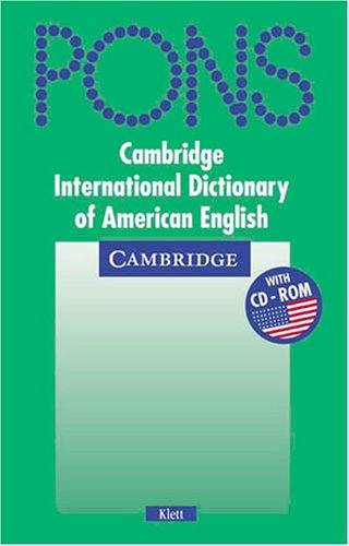 9783125170940: Cambridge Dictionary of American English (Klett Edition) Paperback and CD ROM Pack