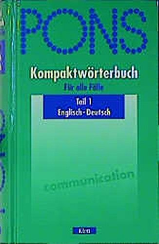 9783125171206: Title: PonsGrossworterbuch German Edition