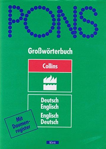 9783125171510: Collins German-English, English-German Dictionary : Unabridged