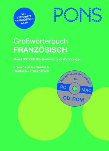 9783125171893: Pons German Series: Pons Grossworterbuch Franzosisch