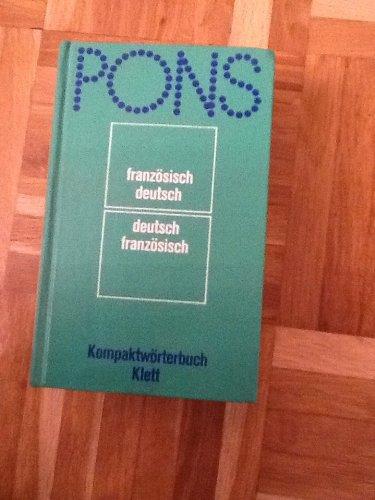9783125172005: Pons-Kompaktworterbuch: Franzosisch-deutsch, deutsch-franzosisch (German Edition)