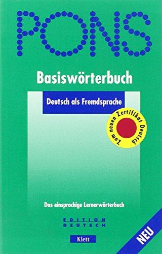 9783125172036: Pons Basisworterbuch