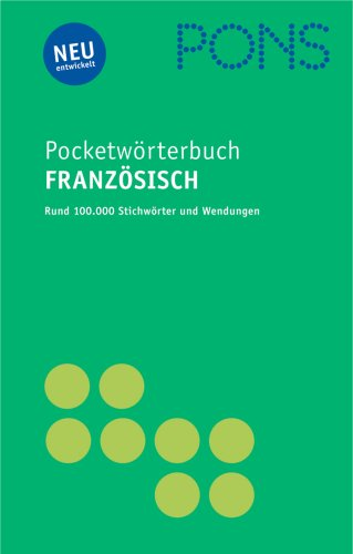 9783125172326: PONS Pocket Wörterbuch Französisch: Französisch - Deutsch / Deutsch - Französisch
