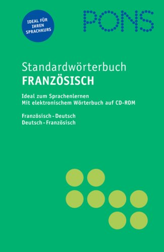 9783125172777: Pons Reference: Pons Standardwoerterbuch Franzosisch (French Edition)
