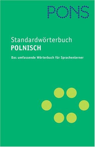 9783125172890: PONS Standardwörterbuch Polnisch: Polnisch-Deutsch /Deutsch-Polnisch