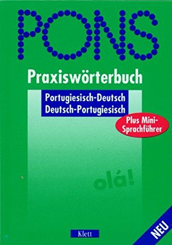 9783125173224: PONS Praxiswörterbuch plus, Portugiesisch