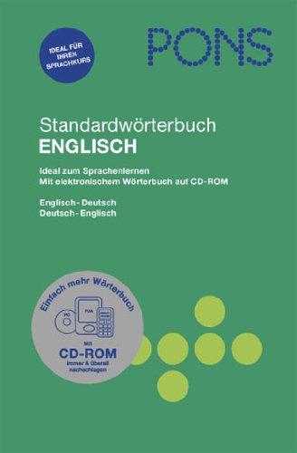 9783125173422: PONS Standardwörterbuch Französisch. Buch mit CD-ROM: Französisch - Deutsch / Deutsch - Französisch. 75.000 Stichwörter und Wendungen. Das umfassende Wörterbuch für Sprachenlerner