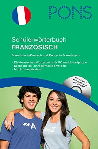 9783125173477: PONS Schülerwörterbuch Französisch mit CD-ROM für die Schule: Französisch-Deutsch / Deutsch-Französisch. 5. Klasse bis Abitur