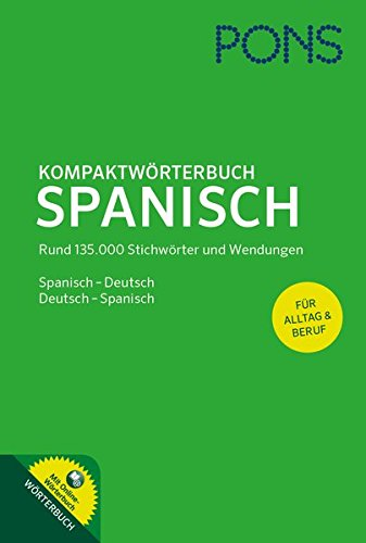 9783125173750: PONS Kompaktwörterbuch Spanisch