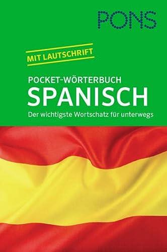 9783125173835: PONS Pocket-Wörterbuch Spanisch: Der wichtigste Wortschatz für unterwegs. Spanisch-Deutsch/Deutsch-Spanisch