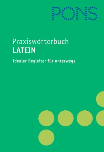 9783125174122: PONS Praxiswörterbuch Latein