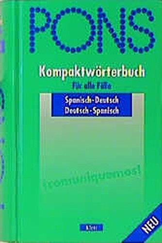 9783125174207: PONS Kompaktwörterbuch, Spanisch