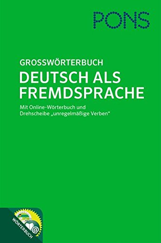 9783125174290: Grossworterbuch. Daf Pons