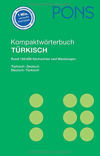 9783125174665: PONS Kompaktworterbuch Turkisch. Turkisch-Deutsch /Deutsch-Turkisch