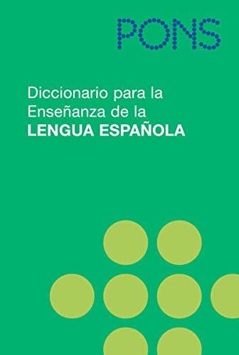 9783125174696: PONS Diccionario para la Ensenanza de la Lengua Espanola