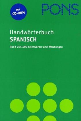9783125174795: PONS Wörterbuch für berufliche Praxis, Spanisch-Deutsch/Deutsch-Spanisch