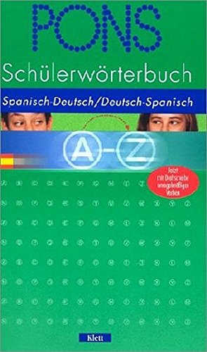 9783125174825: PONS Schülerwörterbuch : Spanisch