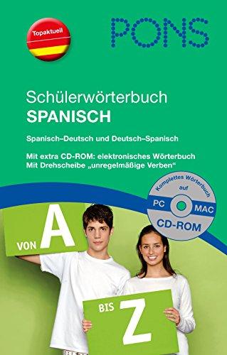 9783125174856: PONS Schülerwörterbuch Spanisch: Spanisch-Deutsch/Deutsch-Spanisch