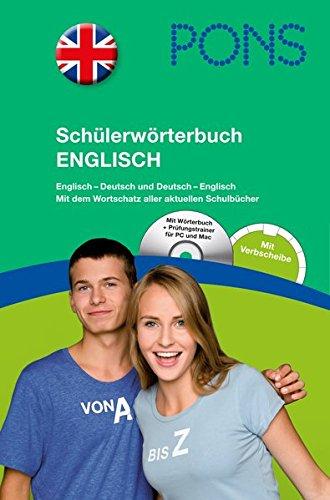 9783125174948: PONS Schülerwörterbuch Englisch