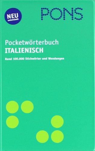 9783125175198: PONS Pocket Wörterbuch Italienisch