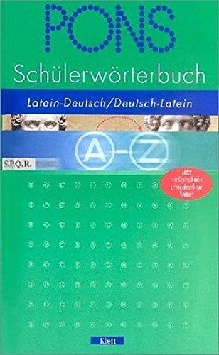 9783125175235: PONS Schülerwörterbuch Latein. Ab 5. Schuljahr.