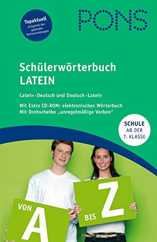 9783125175341: PONS Schülerwörterbuch Latein: Latein - Deutsch / Deutsch - Latein. Mit rund 80 000 Stichwörtern, Redewendungen und Anwendungsbeispielen