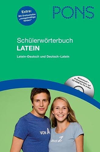 9783125175358: PONS Schülerwörterbuch Latein: Latein-Deutsch / Deutsch-Latein, mit CD-Rom für PC und Mac