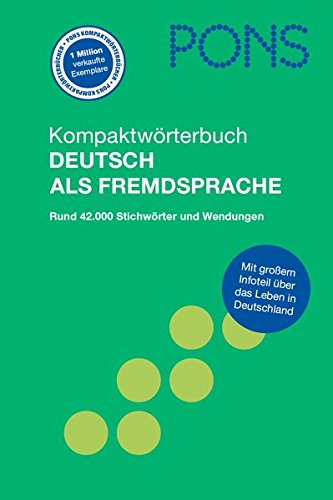 9783125175419: Pons Reference: Pons Kompaktworterbuch Deutsch Als Fremdsprache (German Edition)
